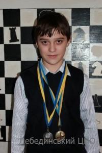 Калініченко Антон –  ІІІ місце у чемпіонаті Сумської області зі швидких шахів