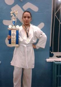 Фісіченко Олександра –  бронзовий призер Кубка України з карате