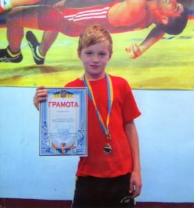 Фесенко Руслан –  срібний призер обласних змагань з панкратіону
